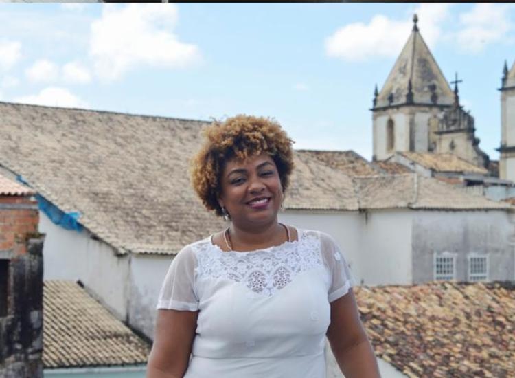 Diretora geral da Funceb, Renata Dias participou do 'Isso é Bahia' | Foto: Shirley Stolze | Ag. A TARDE - Foto: Shirley Stolze | Ag. A TARDE