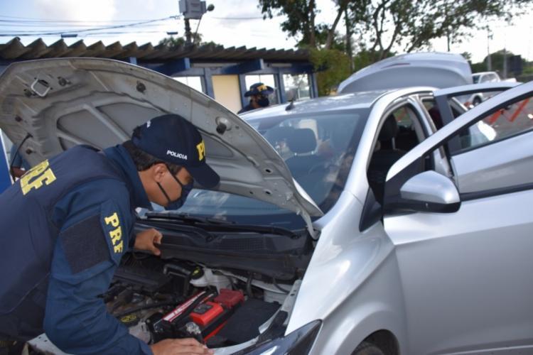 Ação aconteceu em mais uma etapa da Operação Kapro, da PRF | Foto: Divulgação | PRF - Foto: Divulgação | PRF