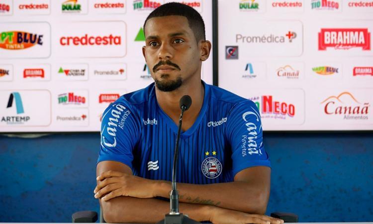 O volante passou a ganhar oportunidades com o técnico Mano Menezes   Foto: Felipe Oliveira   EC Bahia - Foto: Felipe Oliveira   EC Bahia