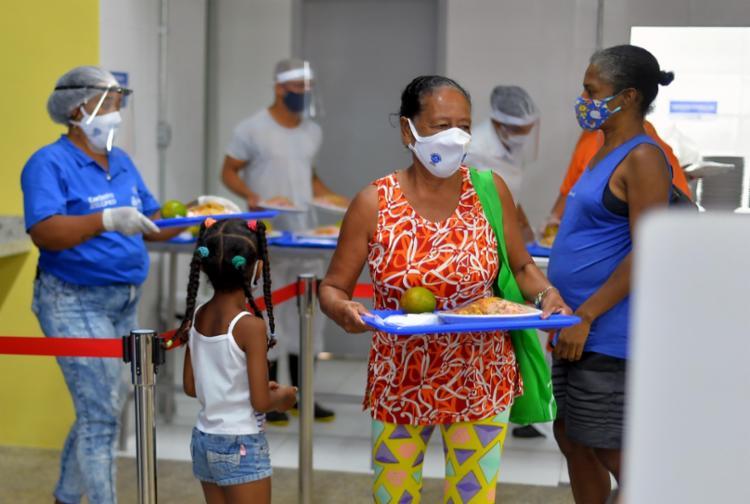 Em cada unidade serão ofertadas cerca de 350 refeições diariamente | Foto: Jefferson Peixoto | Secom - Foto: Jefferson Peixoto | Secom