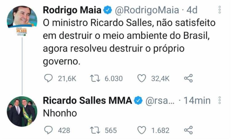 Publicação foi feita no microblog Twitter | Foto: Reprodução | Twitter | Folha de S. Paulo