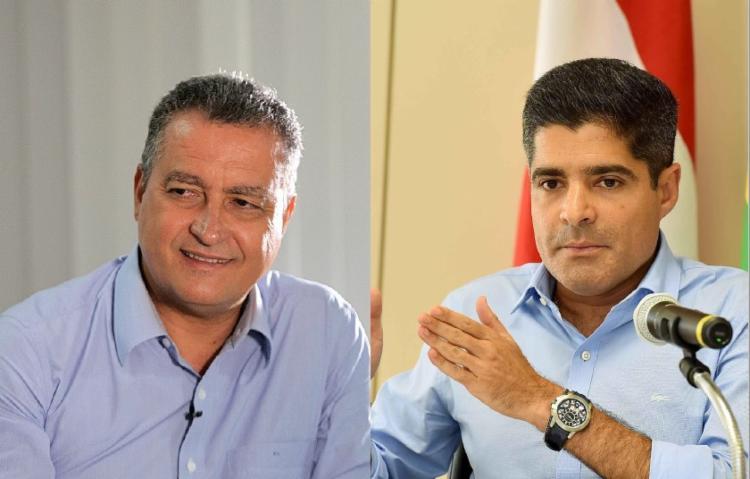 Rui e Neto estão em alta na opinião dos congressistas mais influentes - Foto: Divulgaçao