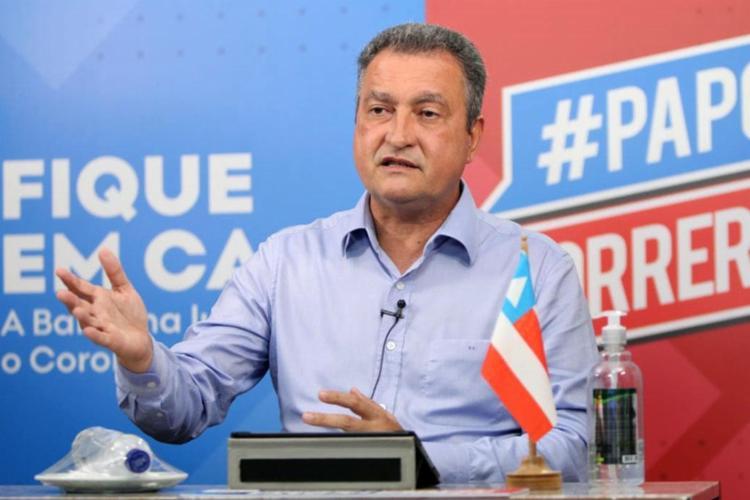 O governador acredita que a candidata Denice Santiago (PT) se sairá bem no confronto - Foto: Divulgação