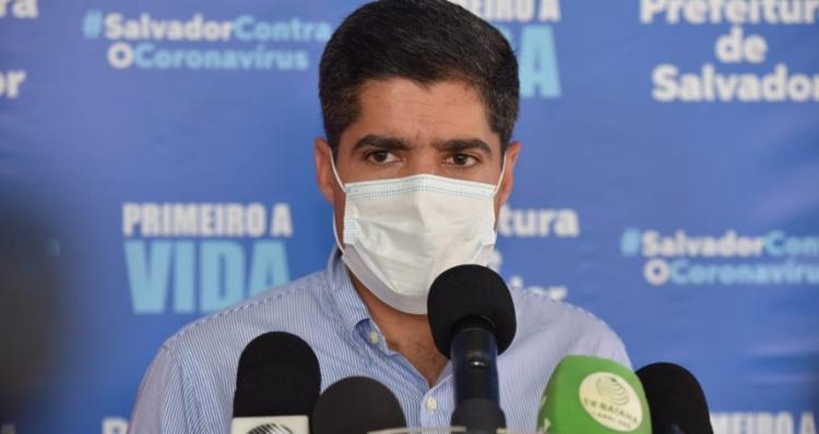 Segundo o prefeito ACM Neto, mais de 300 encostas passaram por contenção nos últimos sete anos e meio   Foto: Valter Pontes   Secom - Foto: Valter Pontes   Secom