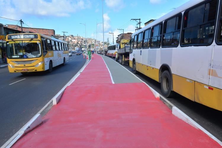 Avenida Suburbana é a via onde houve mais mortes no trânsito este ano   Foto: Divulgação - Foto: Divulgação