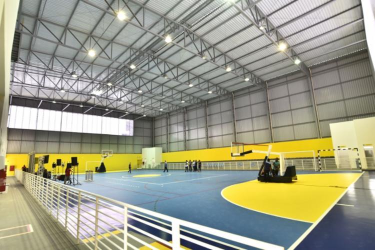 Equipamento de 2,5 mil m² contou com investimento de R$3,8 milhões - Foto: Divulgação   Secom
