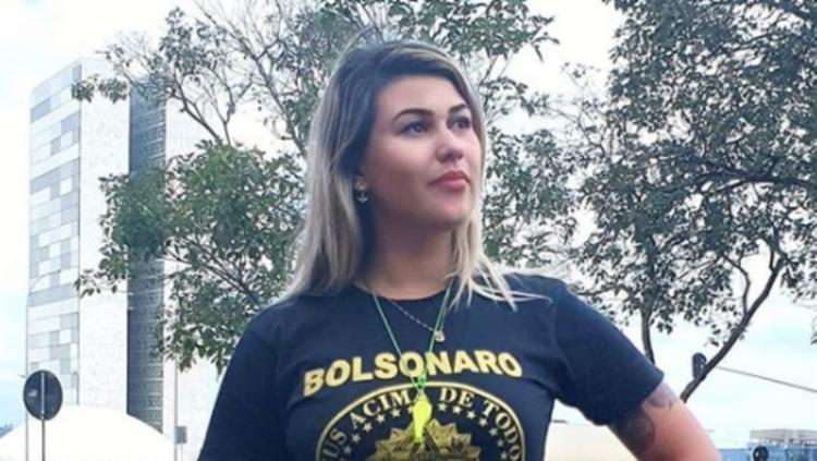 A extremista Sara Winter desabafou sobre a forma como vem sendo tratada pelo governo de Jair Bolsonaro | Foto: Reprodução | Instagram - Foto: Foto: Reprodução | Instagram