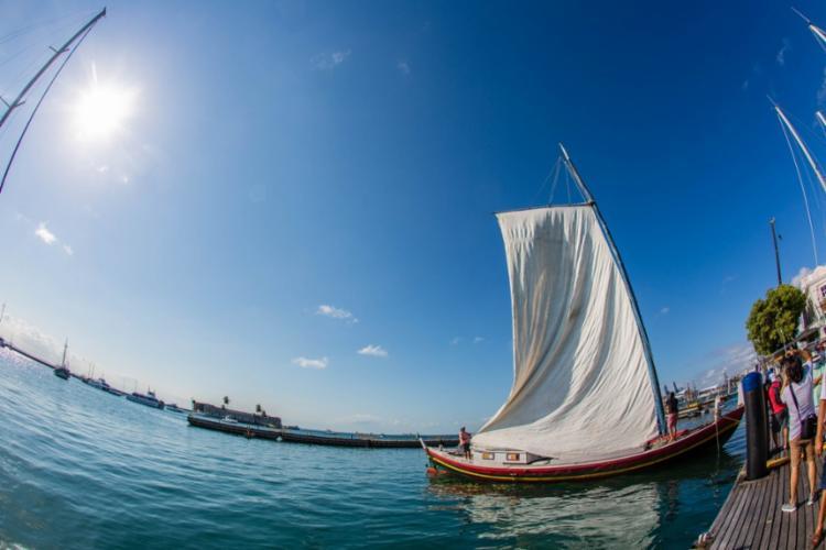 Embarcações levavam mercadorias entre as cidades da Bahia e movimentava a economia | Foto: Divulgação - Foto: Divulgação