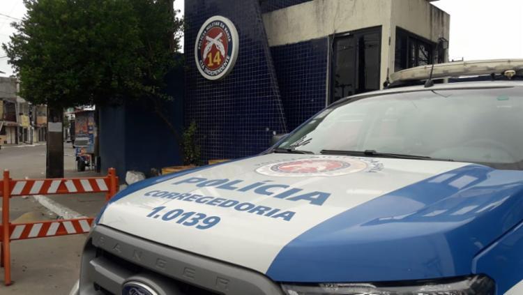 Policiais eram lotados na 14ª CIPM (Lobato) e responderão por crimes de extorsão e sequestro - Foto: Divulgação: SSP