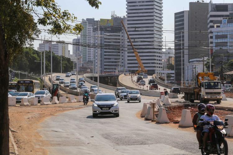 Mudanças na região foram iniciadas nesta quarta   Foto: Bruno Concha   Secom - Foto: Bruno Concha   Secom
