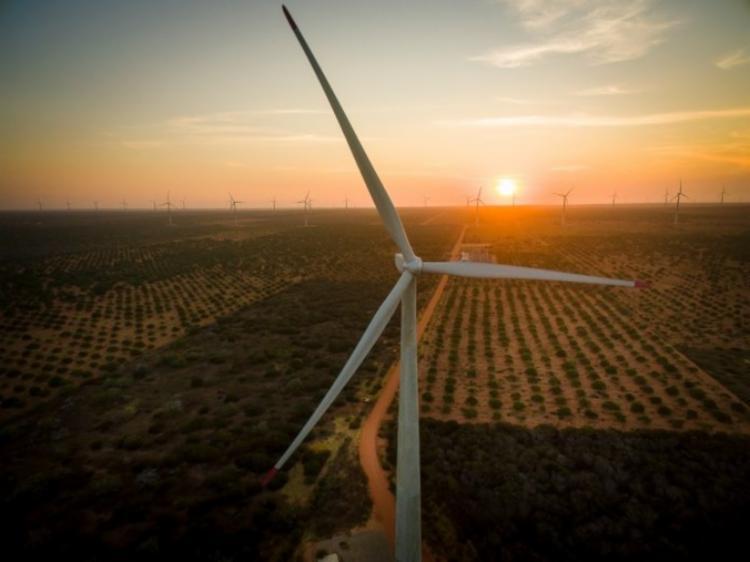 Dentre 659 parques eólicos que tem no Brasil, 26,7% estão na Bahia | Foto: Divulgação | Voltalia - Foto: Foto: Divulgação | Voltalia