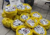 Ação apreende 2,5 mil porções de maconha na Engomadeira | Foto: Divulgação | SSP