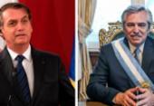 Presidente argentino responde a Bolsonaro sobre papel dos militares na pandemia | Foto: