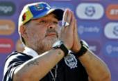 Lenda do futebol argentino, Diego Maradona morre vítima de parada cardiorrespiratória | Foto: Alejandro Pagni | AFP