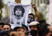 Governo argentino prorroga velório de Maradona para até às 19h | Foto: Ronaldo Schemidt | AFP