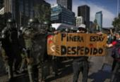 Centenas de manifestantes no Chile pedem a renúncia de Piñera | Foto: Javier Torres | AFP