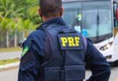 Jovem é preso logo após assaltar ônibus em trecho da BR 324 | Foto: Divulgação | PRF-BA
