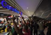 Ações do Carrefour caem 6% em meio a protestos após assassinato em mercado | Foto: Nelson Almeida | AFP