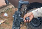 Suspeito de tráfico é preso com submetralhadora de brinquedo | Foto: Divulgação
