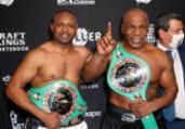 Após empate, Mike Tyson afirma que lutará novamente | Joe Scarcini | AFP