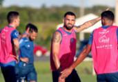 Bahia e Unión Santa Fé disputam na Arena Fonte Nova | Felipe Oliveira | EC Bahia