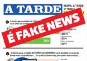 Falsa pesquisa atribuída ao A TARDE circula nas redes | Reprodução