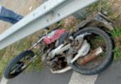 Motociclista morre após acidente na BR-116   Divulgação