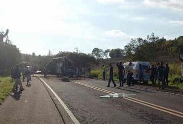Sobe para 41 número de mortos em acidente no interior de São Paulo | Reprodução | Facebook