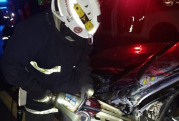 Motorista morre em colisão com caminhão na BR-242