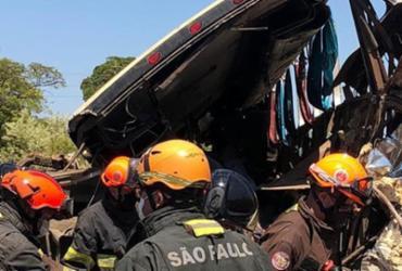 Acidente chamado Brasil | Divulgação | Bombeiros PMESP