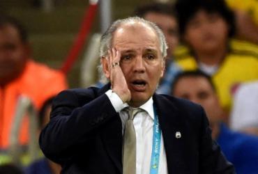 Ex-treinador da Seleção Argentina, Alejandro Sabella é internado em Buenos Aires | Pedro Ugarte | AFP
