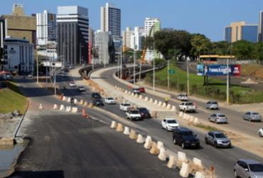 Tráfego na avenida ACM passará por nova alteração a partir desta terça | Divulgação | Prefeitura de Salvador