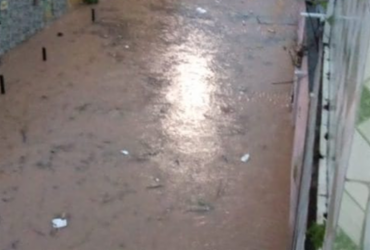Forte chuva afetou mais de mil famílias em Camaçari, aponta Defesa Civil   Reprodução