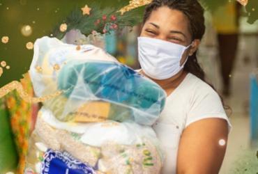 Campanha natalina realiza doações de cestas básicas para famílias de Ipirá