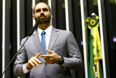Eduardo Bolsonaro defende voto impresso como prioridade | Marcelo Camargo | Agência Brasil