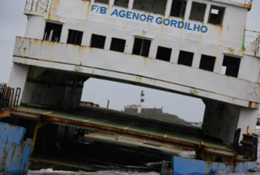 Afundamento do ferry Agenor Gordilho pode aquecer turismo subaquático na Bahia   Rafael Martins   Ag. A TARDE