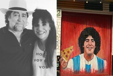 Filha de Maradona posta homenagem para o pai após morte | Reprodução | Instagram