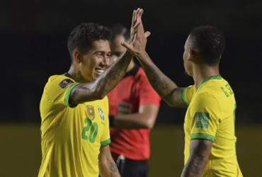 Brasil vence Venezuela e assume liderança isolada das Eliminatórias   Nelson Almeida   AFP