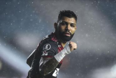 Com um a menos, Flamengo segura empate com Racing na Libertadores | Marcelo Endelli | AFP