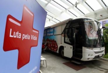 Hemoba realiza coleta de sangue em colégio na Avenida Paralela | Camila Souza | GOVBA