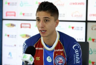 Atacante Índio Ramírez assegura: 'Dou muitos passes para gol' | Felipe Oliveira | EC Bahia