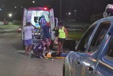 Dois homens ficam feridos após acidente na BR-330 | Reprodução | Giro Ipiaú
