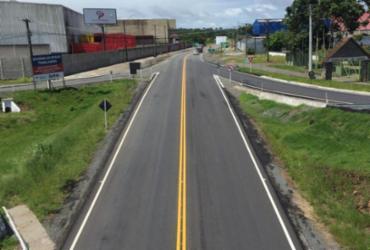 Governo conclui obras de requalificação do semi-anel rodoviário de Itabuna
