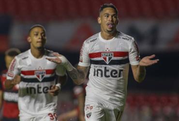 São Paulo elimina Flamengo e avança à semifinal da Copa do Brasil   Miguel Schincariol   São Paulo