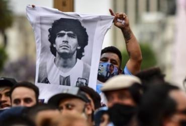 Governo argentino prorroga velório de Maradona para até às 19h | Ronaldo Schemidt | AFP