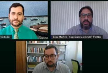Cenários das eleições em Feira e Conquista são debatidos em mesa-redonda | Reprodução