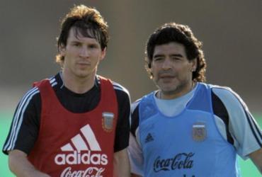 Messi, Neymar e Cristiano Ronaldo prestam homenagem a Diego Maradona | Reprodução | Instagram