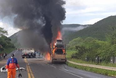 Duas pessoas morrem após acidente na BR-116