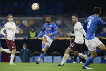 Napoli vence e homenageia seu eterno ídolo no 'estádio Maradona' | Filippo Monteforte | AFP