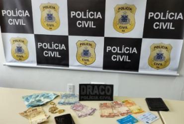 Operação Ícaro: Gerente de facção, foragido da Justiça é preso em Sussuarana | Divulgação | SSP